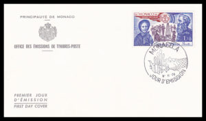 SA 10.1 - Salvation Army FDC Monaco 1978