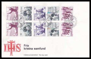 SA 9.2a - SA Sweden FDC 1978