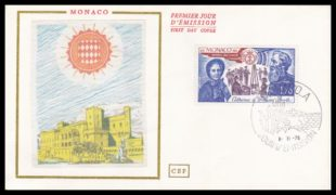Salvation Army FDC Monaco 1978